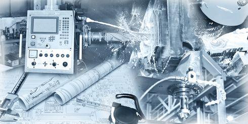 Industrie - Mechanik - Collage